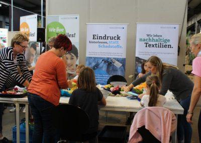 Nachhaltige Textilien - Filzen mit Kindern